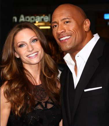 Lauren Hashian Dwayne Johnson The Rock Girlfriend 2013