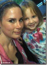 Misty Shaffer and daughter