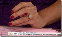 Savannah Guthrie engagement ring pic