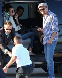 Toni Garrn Leonardo DiCaprio picture