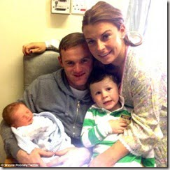 Klay Anthony Rooney – Wayne and Coleen Rooney's New Baby Son