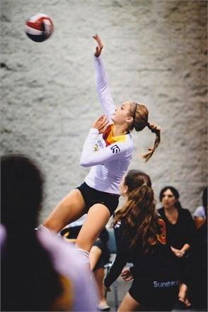 Gigi Hadid Volleyball
