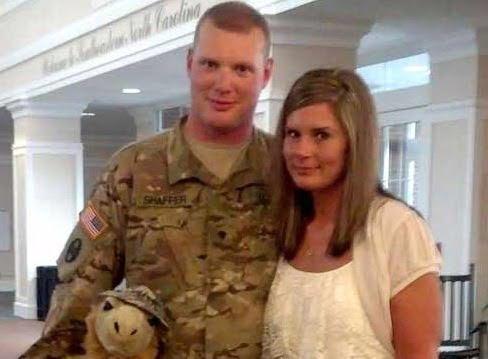 Misty Shaffer – Army Spc. Larry Shaffer's Sexy skinny Wife