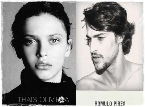 Brazilian Model Romulo Pires da Silva- Guess Model Thais Oliveira's Boyfriend/ Fiancee