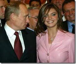 Alina Kabaeva Vladimir Putin girlfriend picture