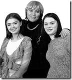 Alina Kabaeva mother sister