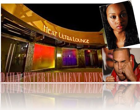 Heat Ultra Lounge  Chris Brown Deanna Gines