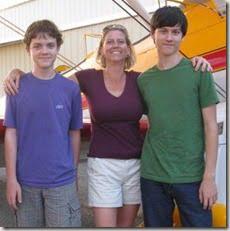 Jane Wicker sons