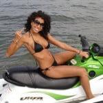 Leyla Ghobadi Kanye West canadian model affair pic