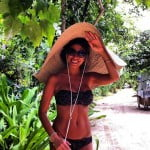 Leyla Ghobadi Kanye West canadian model mistress pictures
