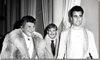 Liberace and Cary James Wyman