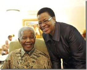 Graca Machel Mandela- South Africa Nelson Mandela's Wife