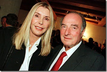Marc Rich and his wife Gisela