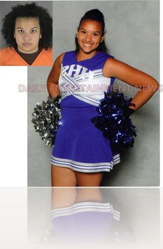 Montia Maria Parker Hopkins High school cheerleader mugshot