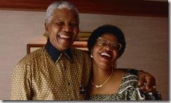 Nelson Mandela and Graça Machel in 1998