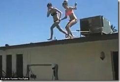 Nicole Easton stunt