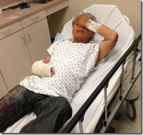 Pak Chong Mar- Man who Slashed his Wrists outside NBC Studios