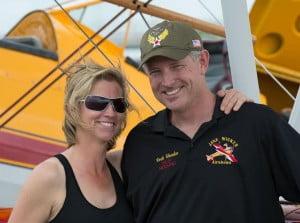 Rock Skowbo- Wing Walker Killed in Vectren Dayton Air Show in Ohio Jane Wicker's Boyfriend/ Fiancée