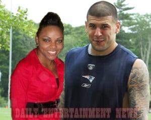 Shayanna Jenkins Aaron Hernandez fiancee pic