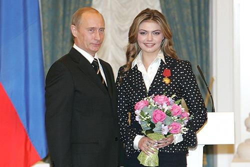 Vladimir Putin's Rumored Girlfriend Alina Kabaeva