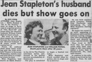 William Putch PamelaPutch Jean Stapleton