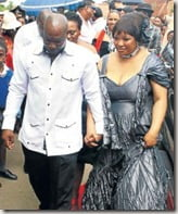 ZINDZI MANDELA WEDDING; POTCHEFSTROOM SOUTH AFRICA