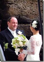 james_gandolfini_Deborah_Lin_wedding_picture