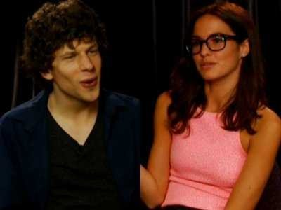 Romina Puga- Jesse Eisenberg's reporter in Tears (VIDEO)
