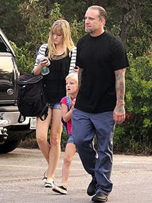 Jesse James and wife Karla James with son Chandler James