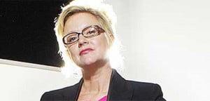 Kay Hartenstein- defends Charles Saatchi after he clutched Nigella Lawson's neck!