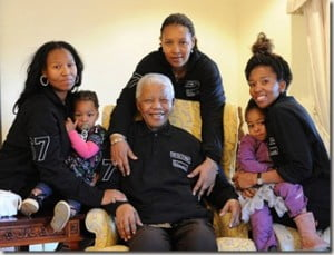 Zindzi, Maki and Zenani Mandela- Nelson Mandela's Daughters