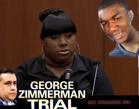 Rachel Jeantel- Trayvon Martin's Friend Rachel From Miami?