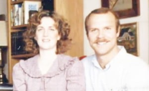 Anne Myers- Presumed dead father returned Gay Eric Myers' Wife