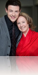 Cory Monteith mom Ann McGregor