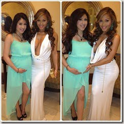 Daphne Joy Narvaez  50 cent pregnant girlfriend picture