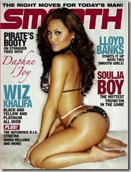 Daphne Joy Narvaez Smooth magazine