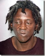 Flavor Flav domestic assault arrest mugshot