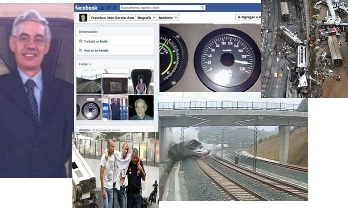Francisco Jose Garzon Amo- Spanish Train Driver is Fatal Crash