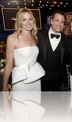 Jimmy Kimmel wife Molly McKearney