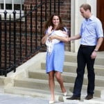 Kate Middleton William Royal Baby first-photos