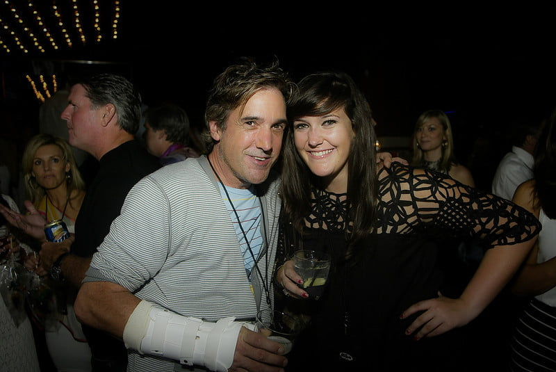 Kraddick and wife