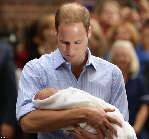 George Alexander Louis/ Prince George Of Cambridge- Duke