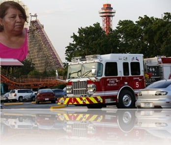 Esparza- Woman who fell to her death from a rollercoaster at Six Flags