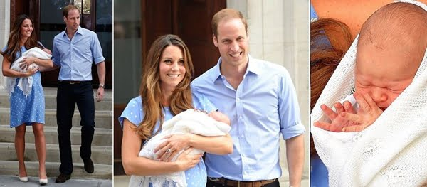 Royal Baby first look