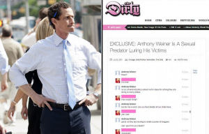 Anthony Weiner (Carlos Danger) in New Sex Scandal