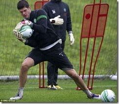 celtic goalkeeper