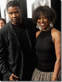 denzel and wife pauletta washington