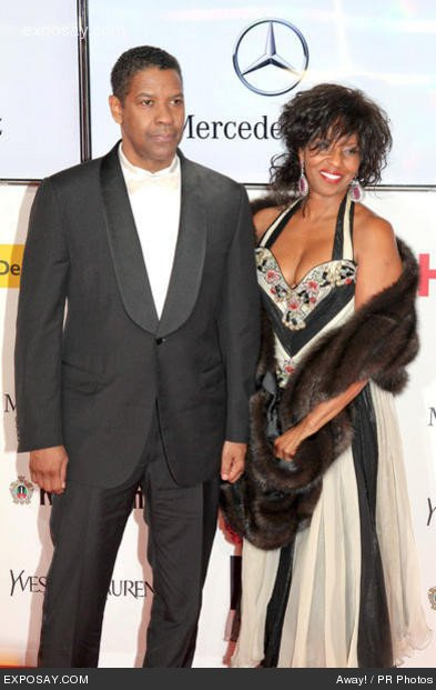 Pauletta Pearson Washington is Denzel Washington's Wife