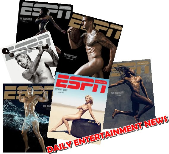 ESPN 2013 Body Issue Photos are HOT!!!