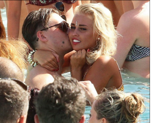 Sexy Valentine Windle is Ferne McCann's Boyfriend Charlie Sims Blonde Mistress?